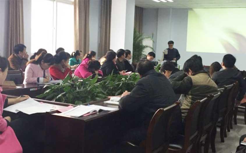 黑豹木业开启了一场生产总结大会