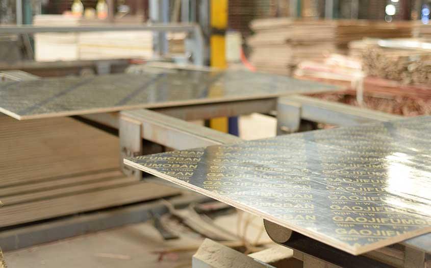 建筑木模板裁边机