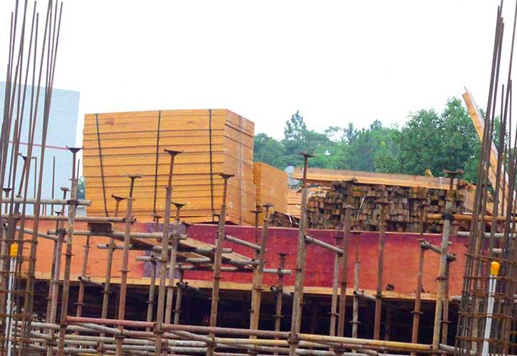 建筑模板搭建