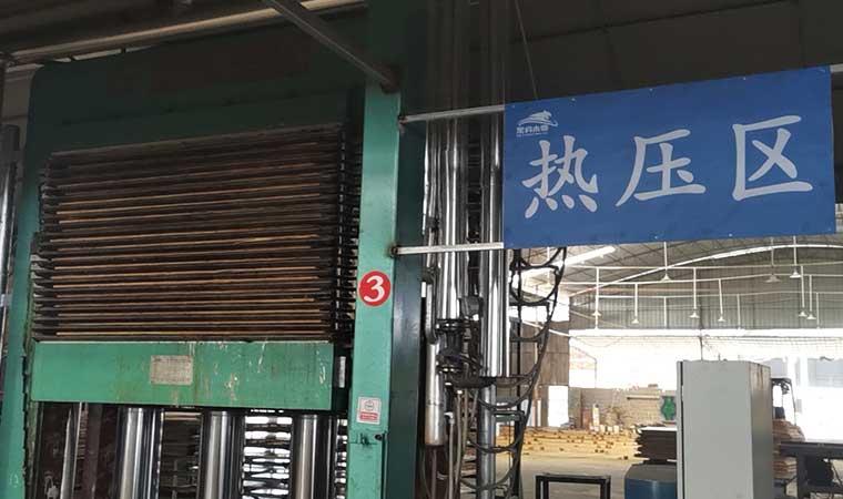 广西贵港建筑木模板厂家生产车间